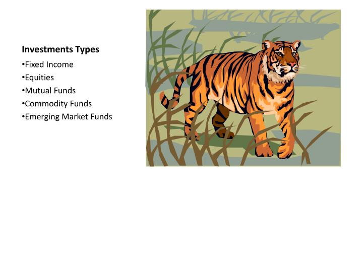 Investments Types