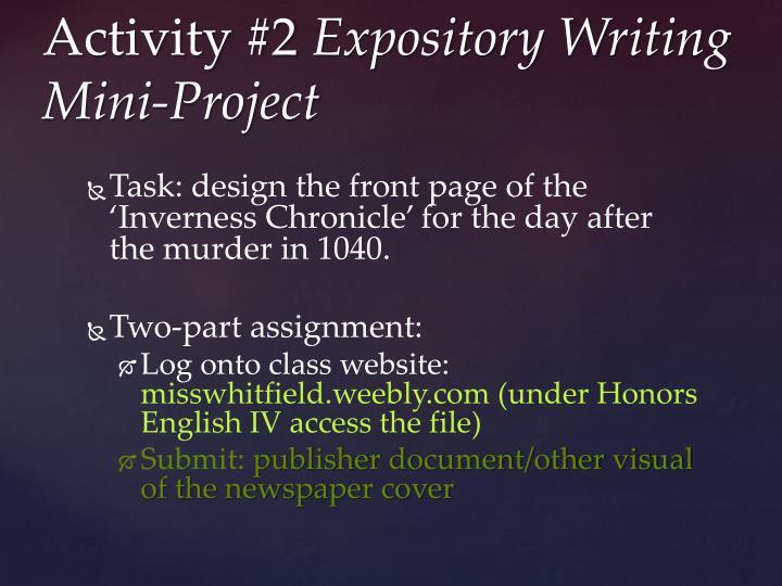 Task: design