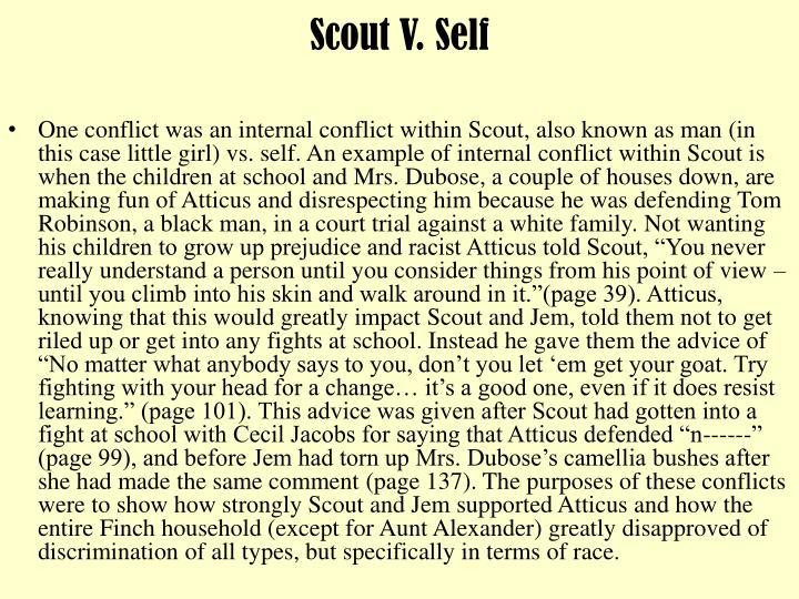 Scout V. Self