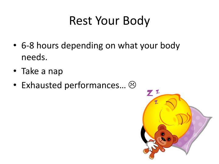 Rest Your Body