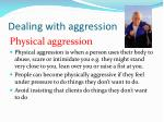 dealing with aggression3