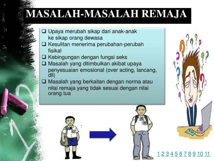 MASALAH-MASALAH REMAJA