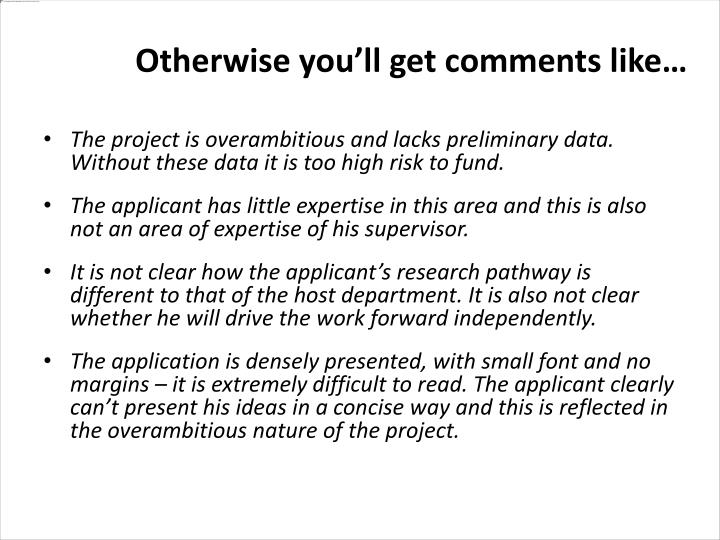 The project is overambitious and lacks preliminary data. Without these data it is too high risk to fund.
