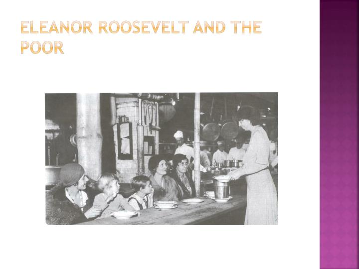 Eleanor Roosevelt and the poor