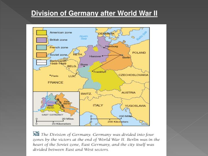 Division of Germany after World War II