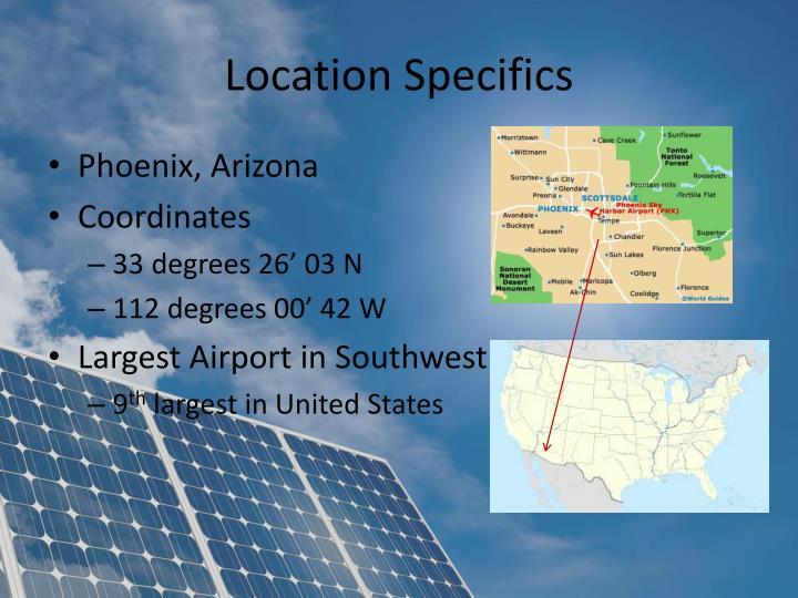 Location Specifics