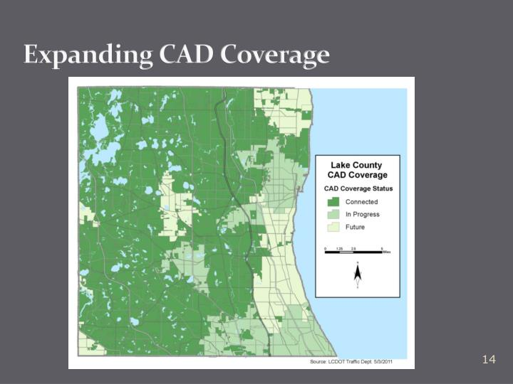 Expanding CAD Coverage