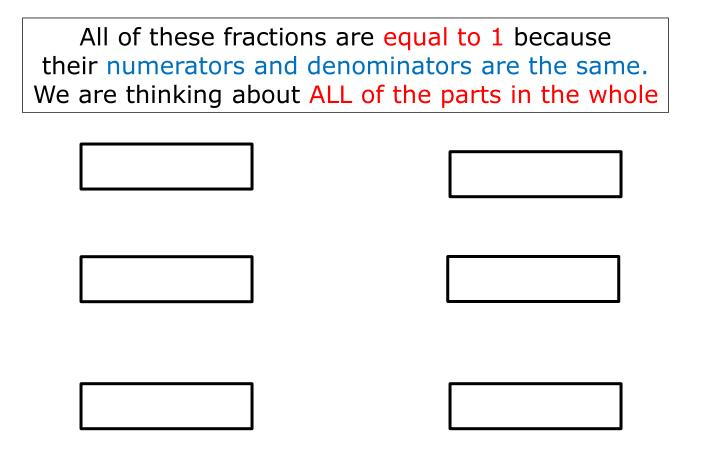 All of these fractions are