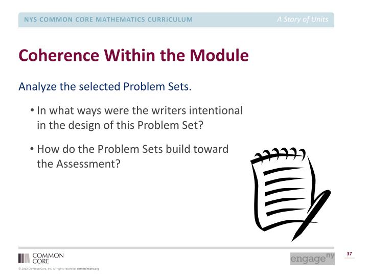 Coherence Within the Module