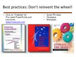 click on freebies for pre made powerpoints and brochures www lmcsource com