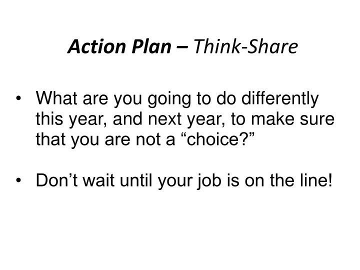 Action Plan –