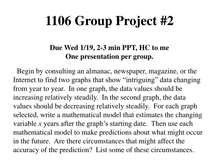 1106 group project 2