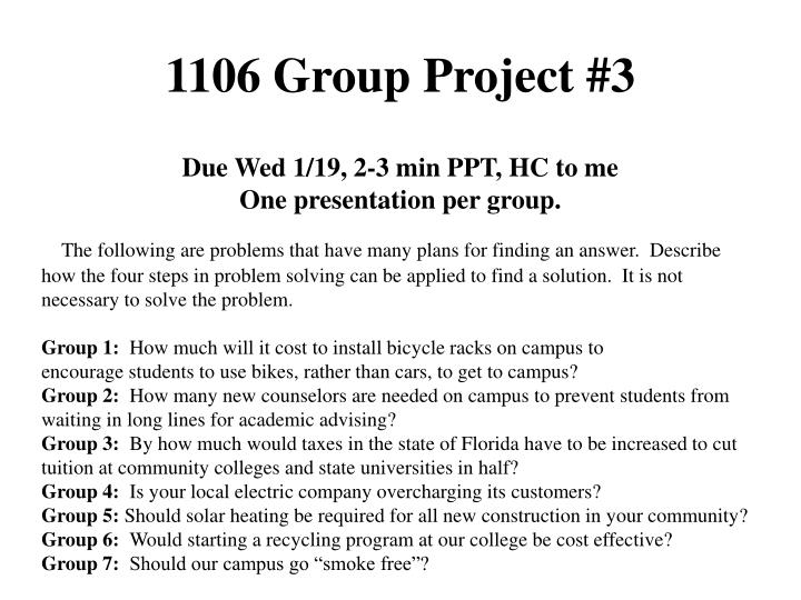 1106 group project 3