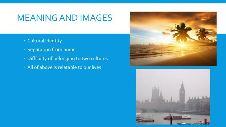 Meaning and images