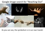 google image search for reaching out