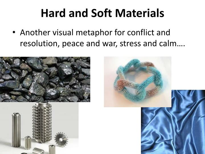 Hard and Soft Materials