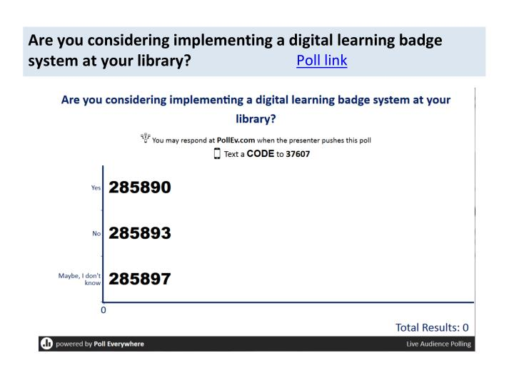Are you considering implementing a digital learning badge