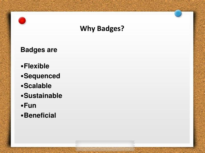 Why Badges?