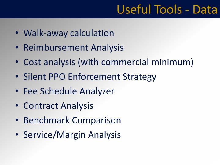 Useful Tools - Data