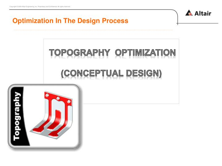 Optimization In The Design Process