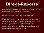 direct reports1