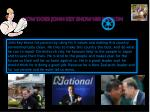 how does john key show his passion