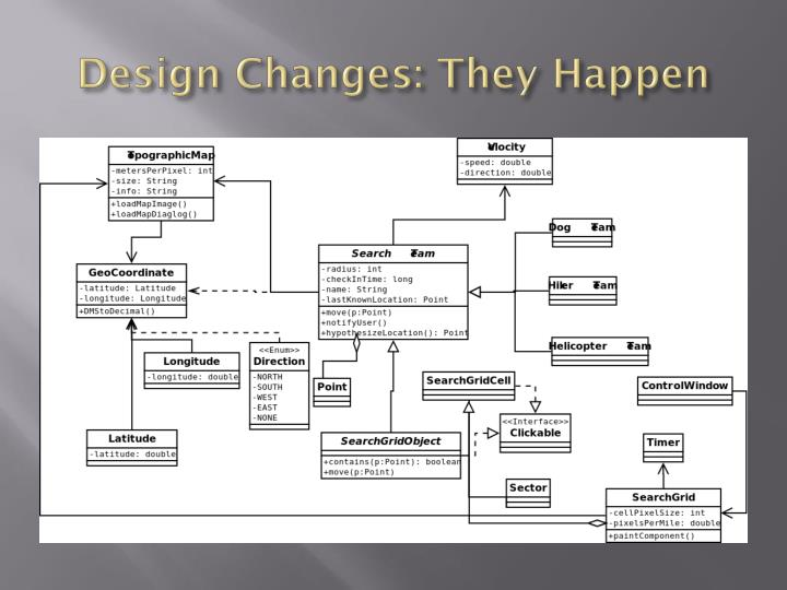 Design Changes: They Happen