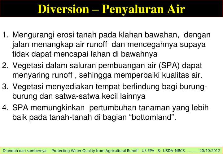 Diversion –
