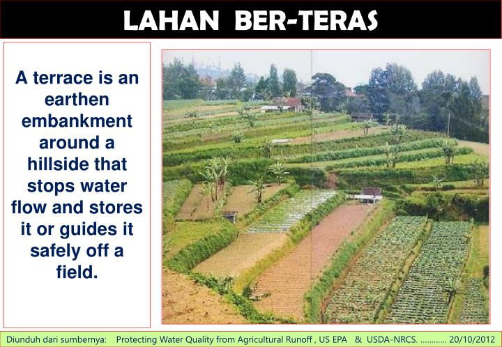 LAHAN  BER-TERAS
