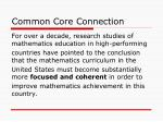 common core connection
