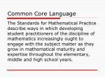 common core language1
