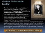 american bar association law day