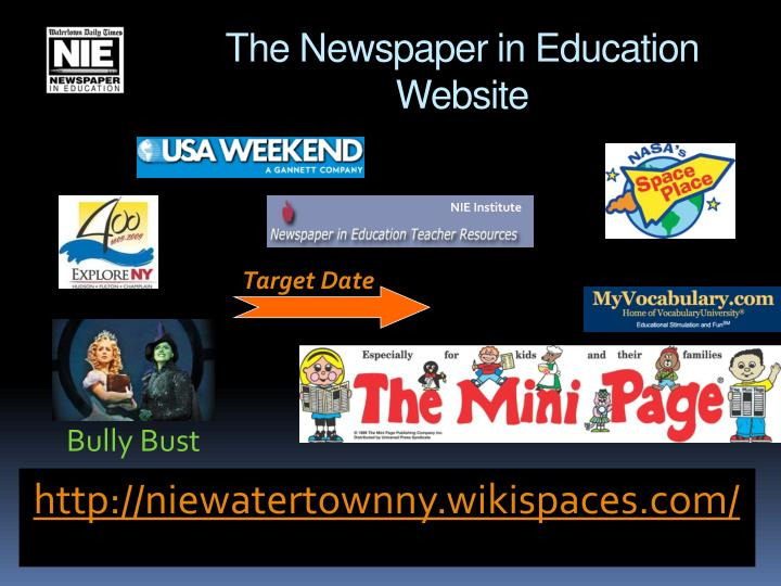 The Newspaper in Education