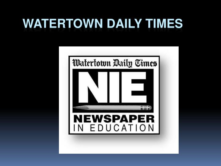 Watertown Daily Times
