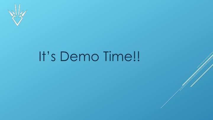 It's Demo