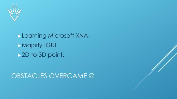 Learning Microsoft XNA.