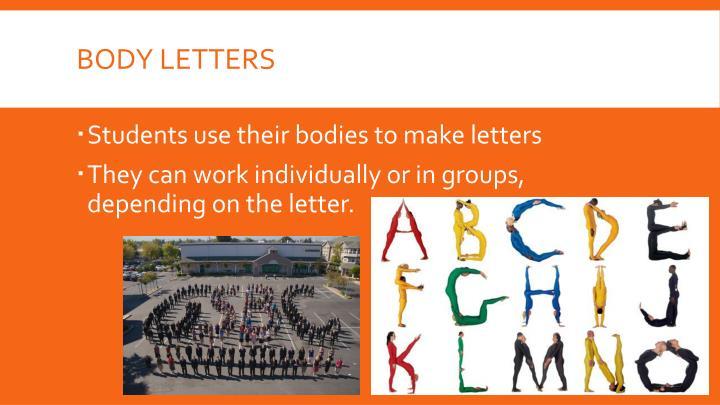 Body letters