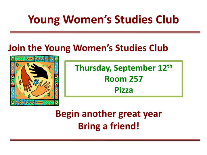 Young Women's Studies Club
