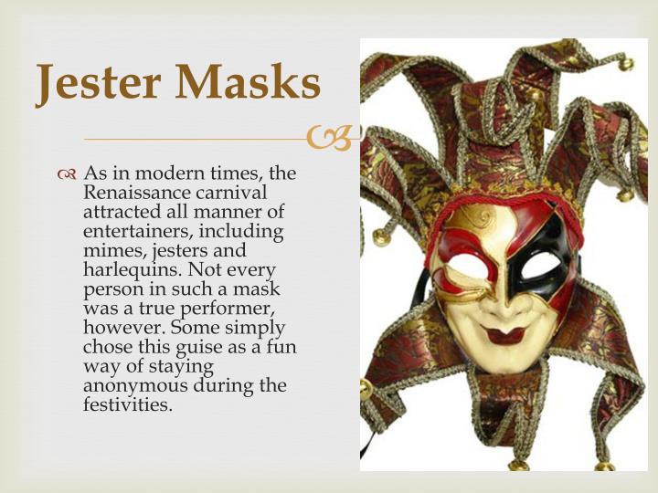 Jester Masks