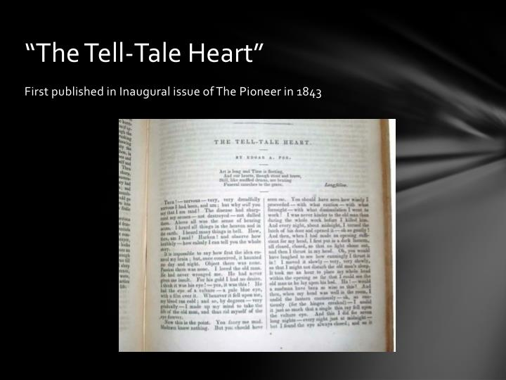 """""""The Tell-Tale Heart"""""""