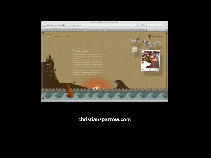 christiansparrow.com