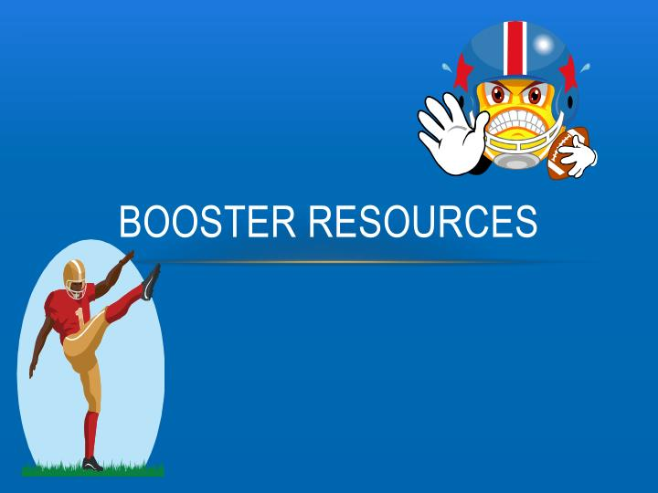 Booster Resources