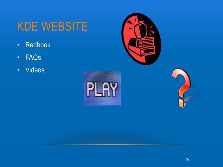KDE Website