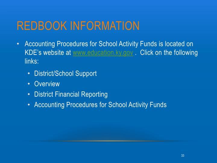 Redbook information