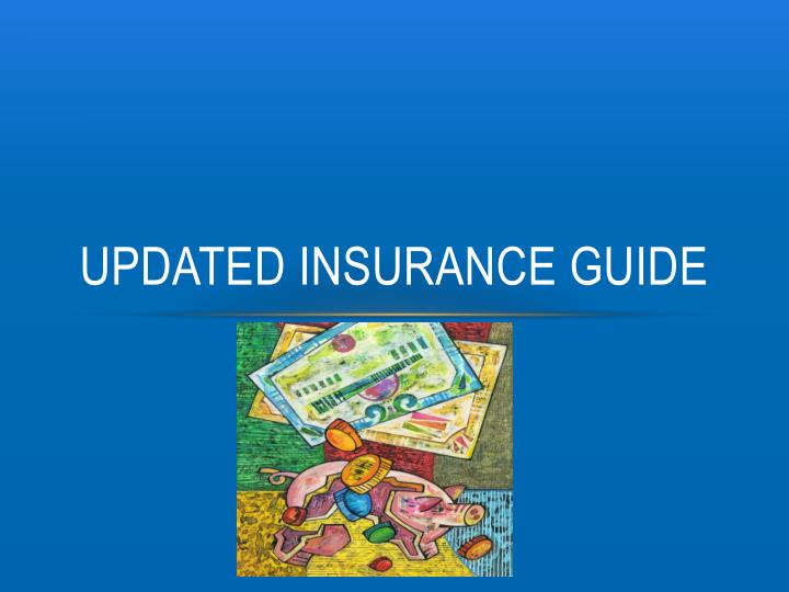Updated insurance guide