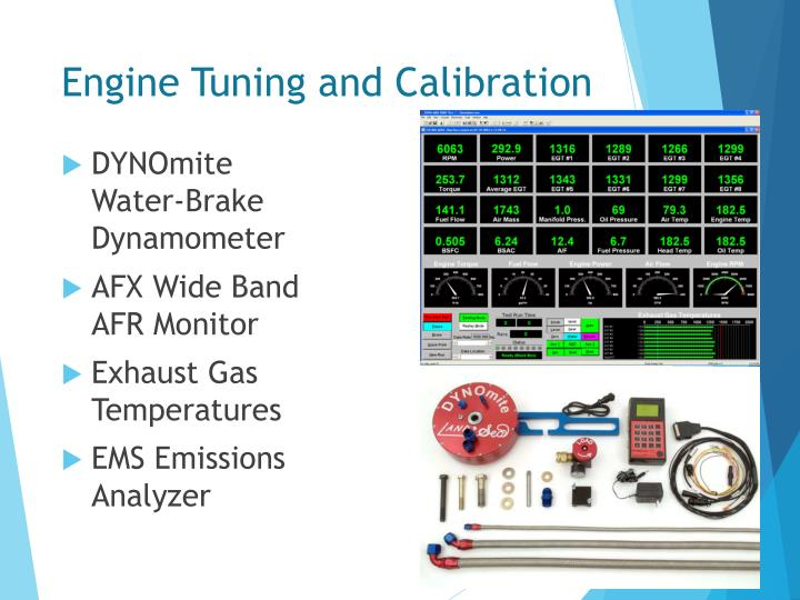 Engine Tuning and Calibration