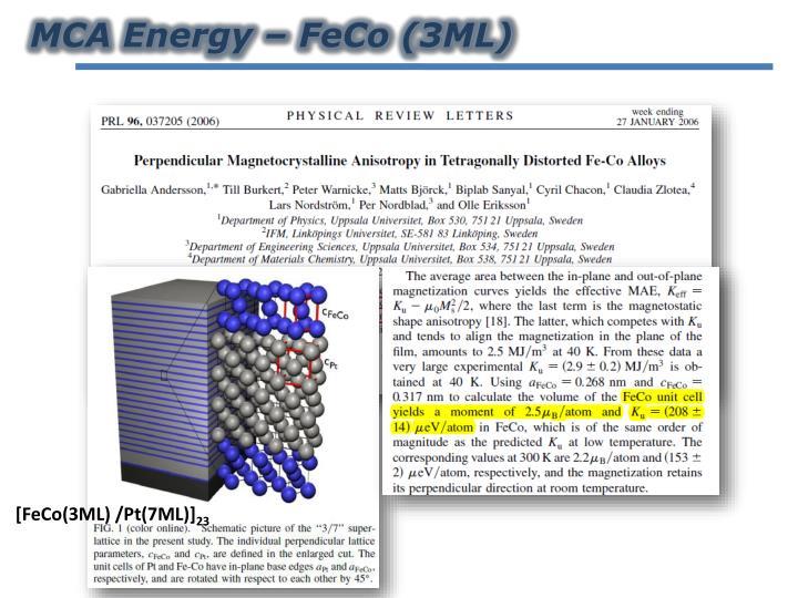 MCA Energy –