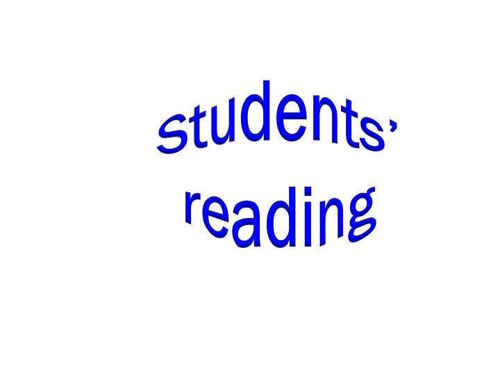 Students' reading