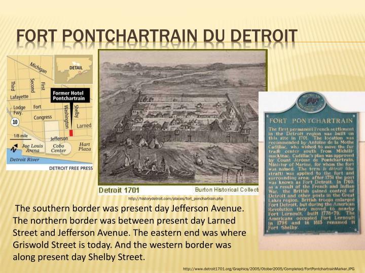 Fort Pontchartrain du Detroit