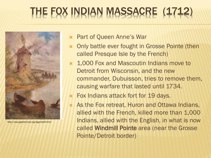 Part of Queen Anne's War